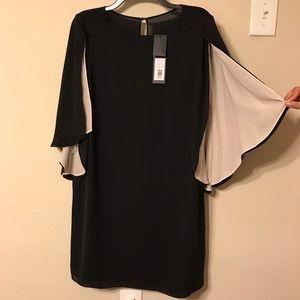 HALSTON HERITAGE black dress size L